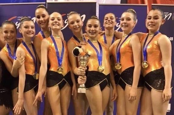 L'équipe GRS de BANDOL…Championne de France 2019